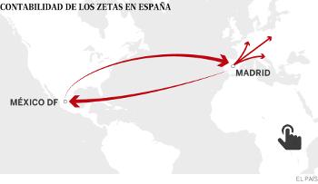Narcotraffico. La contabilita' dei messicani Los Zetas in Europa
