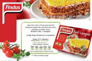 Lasagne Findus con farmaci veterinari. Ritirate dal mercato