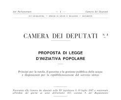 Aduc comunicato proposte di legge di iniziativa for Numero legale parlamento